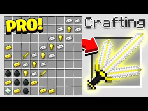 HOW TO CRAFT A $10,000 GOD SWORD! *OVERPOWERED* (Minecraft 1.13 Crafting Recipe)