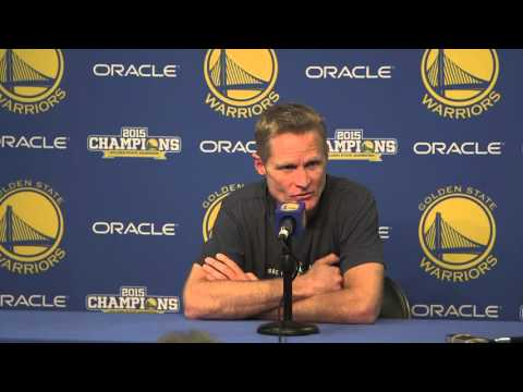 Steve Kerr sends a thoughtful message to Jerry Sloan