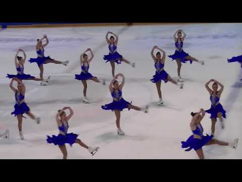 French Cup 2018 : Team Starlights (USA) ,  programme court junior.