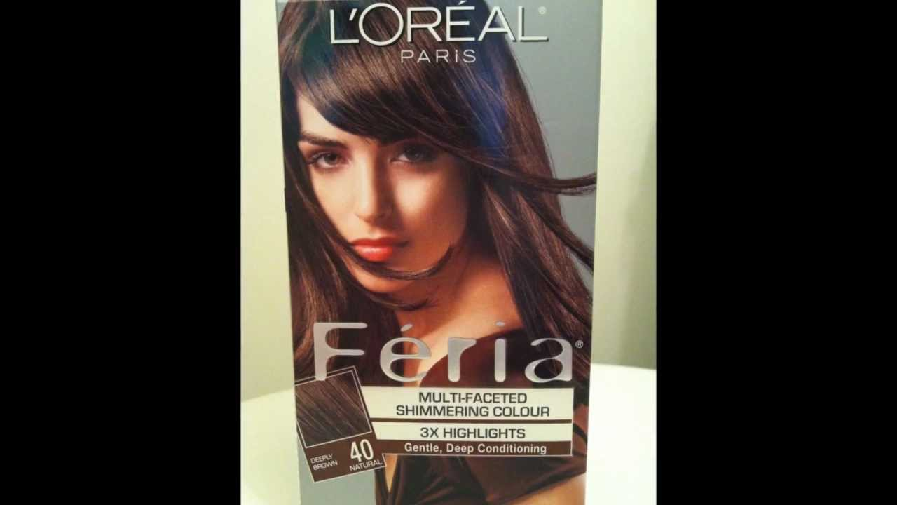 Loral Paris Feria Multi Faceted Shimmering Haircolor Youtube