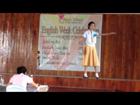 Vengeance Is Not Ours, It's God's (Champion In Declamation)