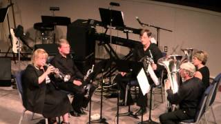 "Whitmore Brass Quintet, ""Get Me to Church On Time"" and ""Amazing Grace"""