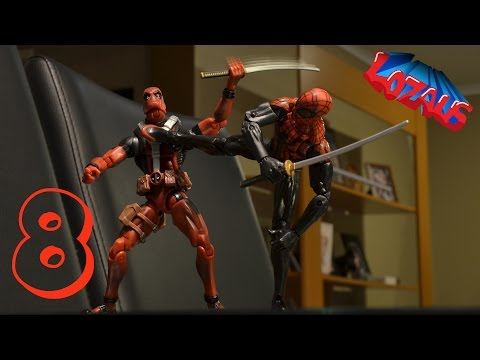 SPIDERMAN Stop Motion Action Video Part 8 thumbnail