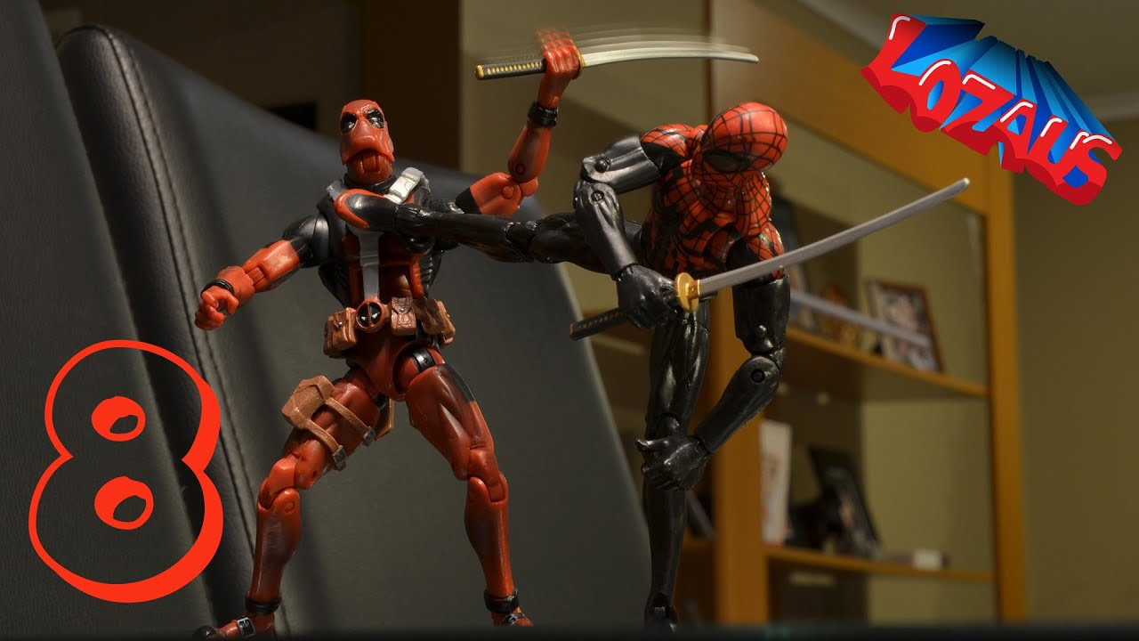 Download SPIDERMAN Stop Motion Action Video Part 8