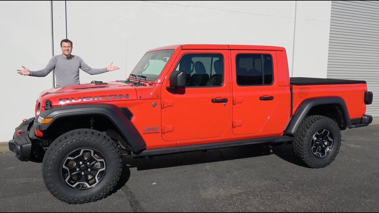 Here's Why the 2020 Jeep Gladiator Is the Hottest New Truck
