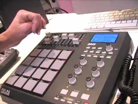 Akai Professional MPD26 Winter NAMM 2010 Demo