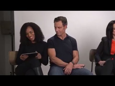 Kerry & Tony together for Innocence Project / FB live 02.03.18