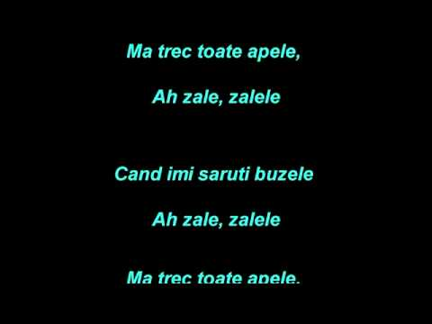 Asu si Claudia   Zalele  Karaoke )