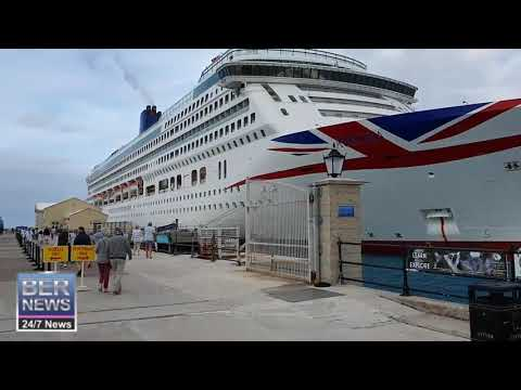Aurora Cruise Ship Arrived In Bermuda, February 18 2020