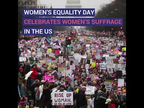 Celebrating Women's Equality Day