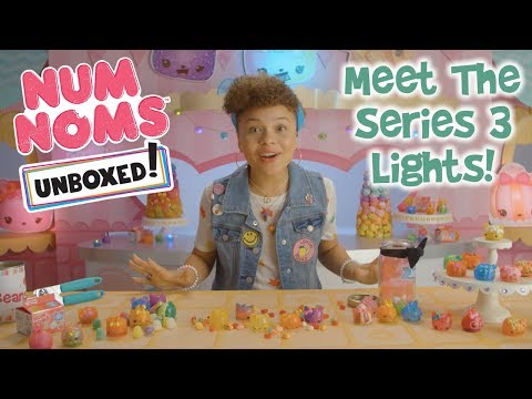 Unboxed! Season 2 | Num Noms | Episode 4: Meet The Series 3 Num Noms Lights!