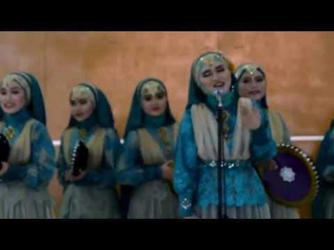 SAWITLI - Santri Putri Ponpes Qiroatussab'ah  Kudang Limbangan Garut JUARA II POSPEDA JABAR 2015