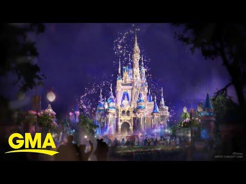 Sneak peek at Walt Disney World's 50th anniversary celebration l GMA