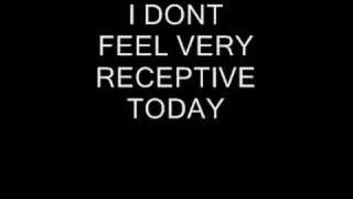 underOATH- I Dont Feel Very Receptive Today