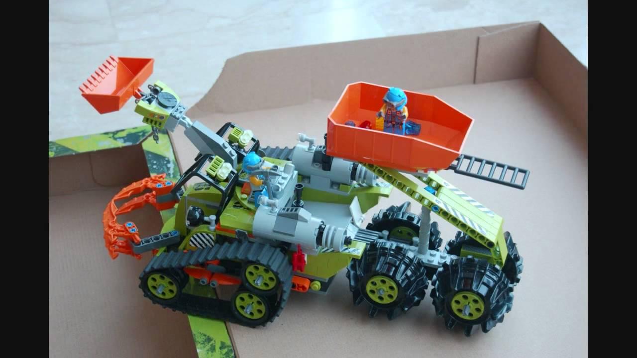 Lego Power Miners Crystal Crawler | Doovi