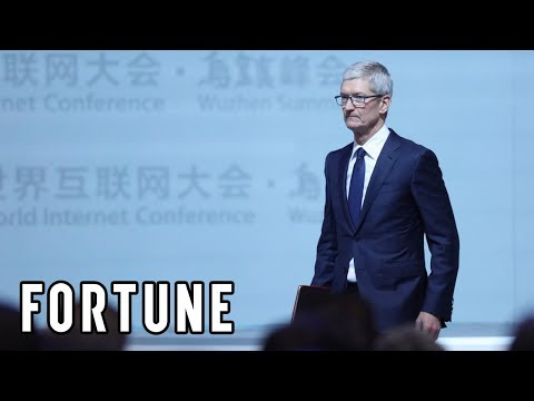 Tim Cook Discusses Apple's Future in China I Fortune