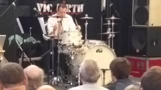 """Daniel Glass performs """"Sing Sing Sing"""" at the 2015 Chicago Drum Show"""