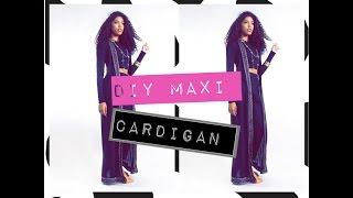 DIY: MAXI CARDIGAN