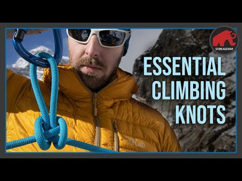 6 Rock Climbing Knots you must know! | StoneAgeMan