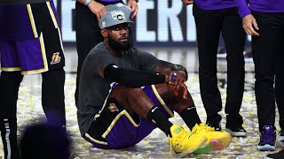 LeBron Sends Lakers to NBA Finals Triple Double! 2020 NBA Playoffs