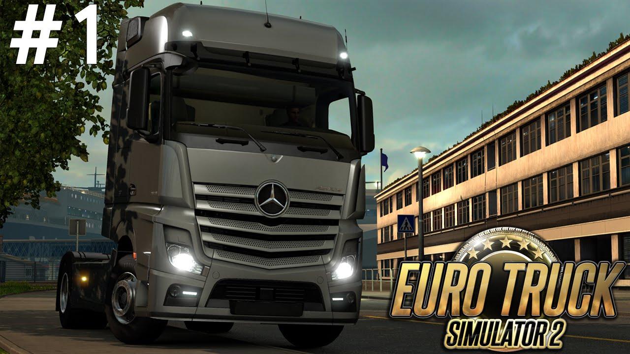 euro truck simulator 2 1 b l m yay nda youtube. Black Bedroom Furniture Sets. Home Design Ideas