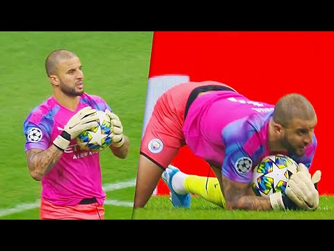 When Football Players Playing As Goalkeepers