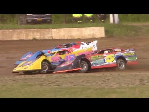 RUSH Crate Late Model Heat One | Eriez Speedway | 8-6-17