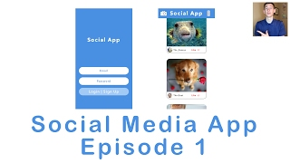 Making a Social Media App: Episode 1 (Swift 3 in Xcode)