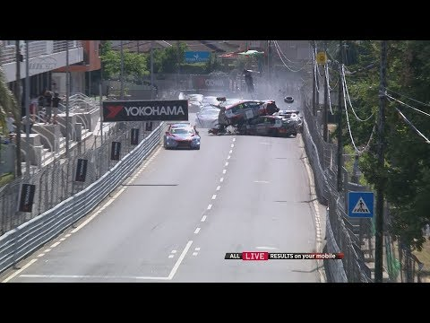 That was the FIA WTCR presented by Oscaro Race of Portugal 2018