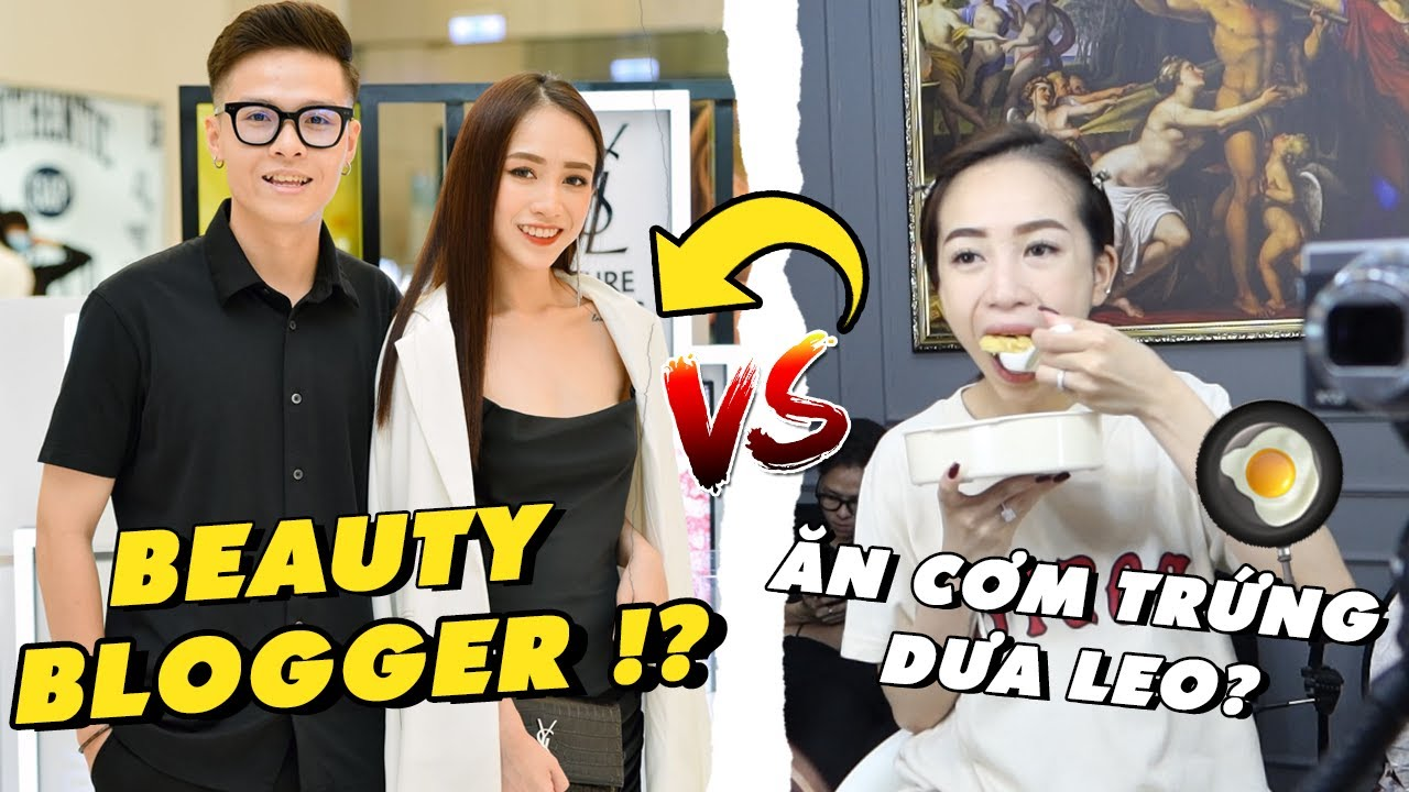1 ngày thử làm beauty vlogger của Joyce và Tâm? từ ăn cơm chiên dưa leo tới sự kiện YSL 💄