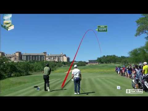 All Golf Shots on Protracer Trackman 2017 Valero Texas Open PGA Tournament