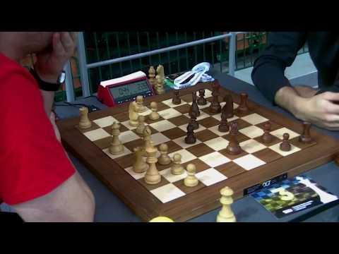 GM  Mastrovasilis Dimitrios  - GM  Jaracz Pawel, Sicilian defense, Blitz chess