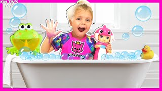 Bath Song Nursery Rhymes song for Kids from Kin Tin