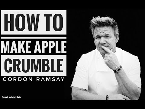 How to Make Apple Crumble Recipe | Gordon Ramsay | Almost Anything
