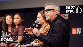 'ROMA' Press Conference   Alfonso Cuarón, Yalitza Aparicio & Marina de Tavira   NYFF56