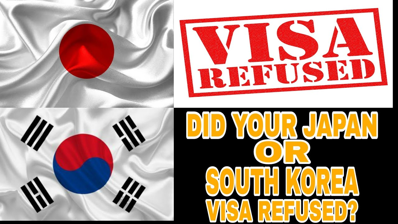 Did Your Japan Or South Korea Visa Refused?    How To Appeal To Embassy After Visa Refusal  