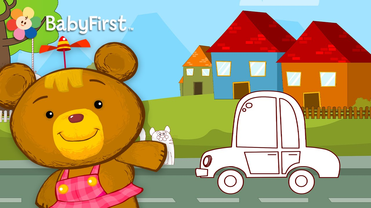 Coloring Game Play Through | learn the colors | BabyFirst ...