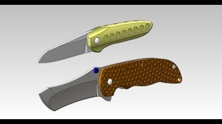 Knifemaking Tuesdays Week 51 - Designing my Integral knife