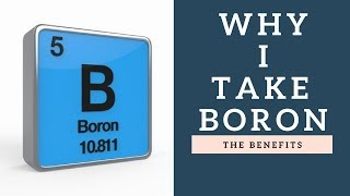 Why I Take A Boron Supplement | Its Benefits & How It Improves Bone Strength!