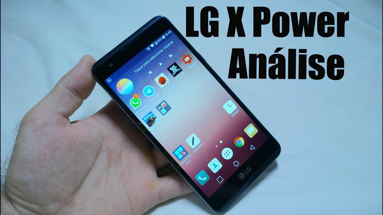 how to get to lg xpower recovery