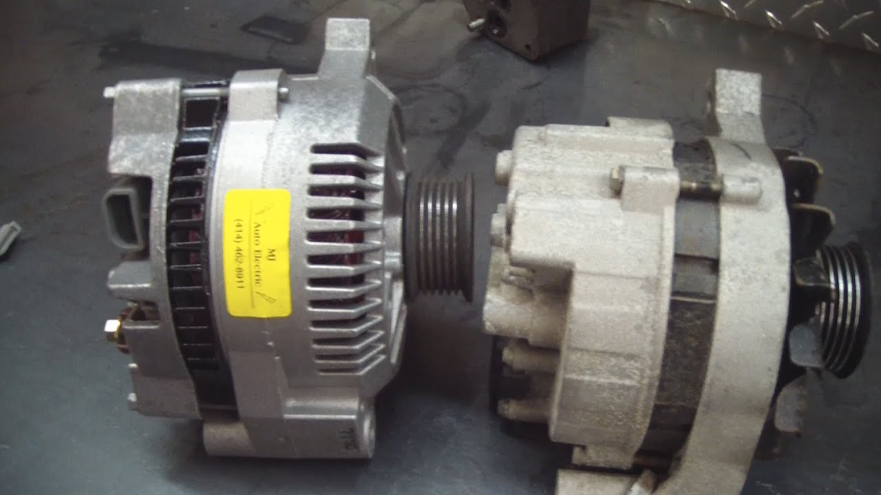 Ford 2g Alternator Wiring Ford 2g To 3g Alternator Upgrade F150 Bronco F250 Youtube