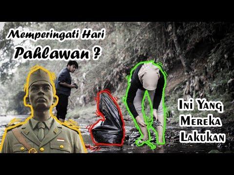 Aksi Pungut Sampah Relawan KCD Di Kali Ciliwung Depok | Memperingat Hari Pahlawan 2019