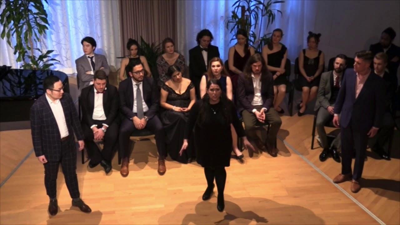 Qian Sun, Alyson Spina, and Scott Hetz Clark; Gounod - Faust Final trio: Alerte! Alerte! - LOSW