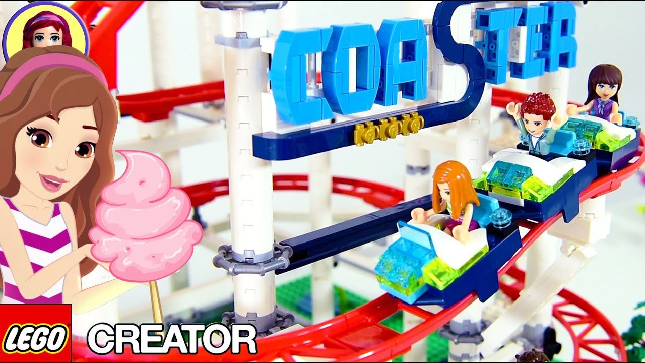 Ride The Lego Creator Roller Coaster With Sophie Henry And The