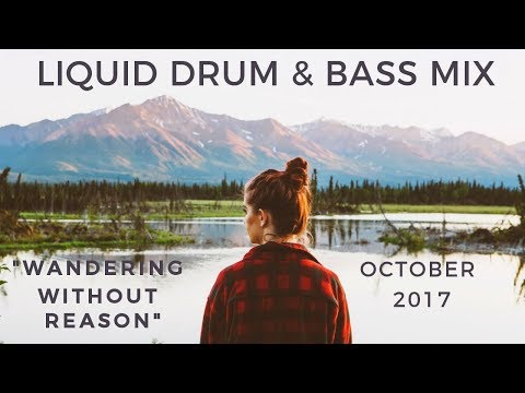 """► Liquid Drum & Bass Mix - """"Wandering Without Reason"""" - October 2017"""