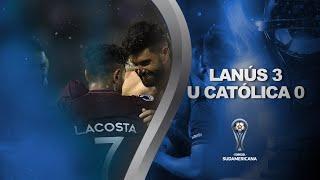 Lanús vs. U. Católica (ECU) [3-0] | GOLES | Primera fase | Sudamericana 2020
