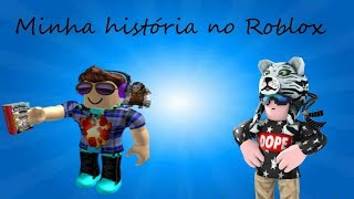 ONE-YEAR SPECIAL FROM MY ROBLOX ACCOUNT (MY STORY ON ROBLOX!!)