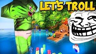 Minecraft TROLLING #4 l Das AQUARIUM :D trollol + Auflösung