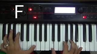 cara mudah mengiringi orang bernyanyi menggunakan piano menggunakan teknik dasar pemula MP3