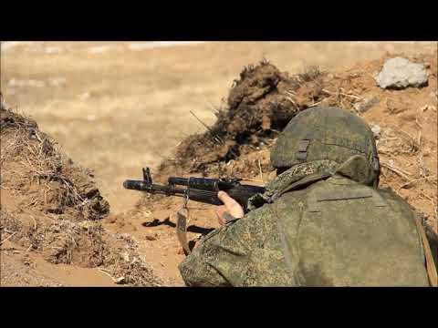 Второй отборочный этап конкурса «Суворовский натиск» на полигоне в Бурятии